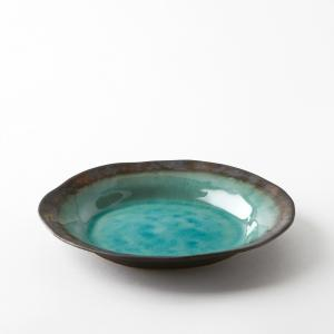 Тарелка десертная из глазурованной керамики, Altadill AM.PM.. Цвет: голубой бирюзовый