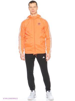 Ветровка ITASCA WB Adidas. Цвет: оранжевый