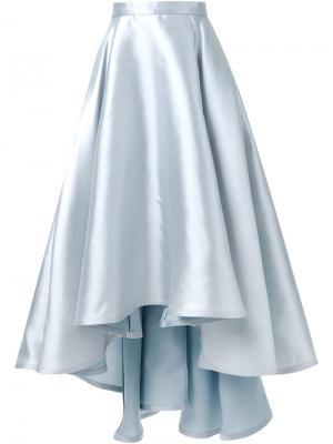 Пышная юбка асимметричного кроя Greta Constantine. Цвет: серый