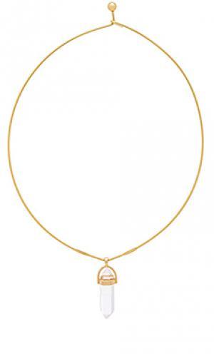 Ожерелье wire Ettika. Цвет: металлический золотой