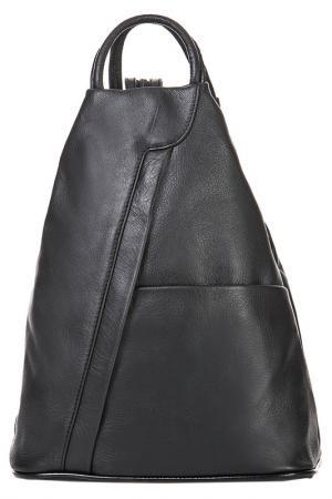 Рюкзак FLORENCE BAGS. Цвет: черный