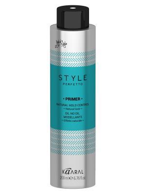 Style Perfetto Моделирующее сухое масло Primer 200мл. Kaaral. Цвет: голубой, серебристый