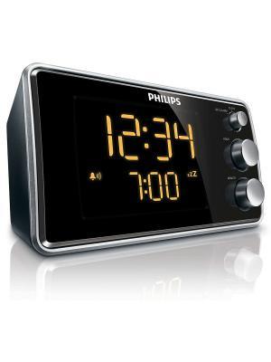Радио-часы AJ3551/12 Philips. Цвет: черный, серебристый