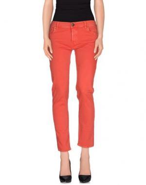 Повседневные брюки SHIELD. Цвет: красный