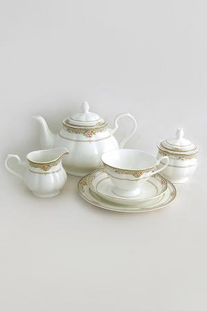 Чайный сервиз Лэнсбери 21 пр EMERALD. Цвет: мультицвет