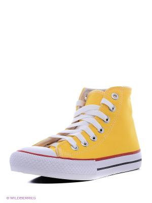 Кеды 4U 4UK040/Yellow