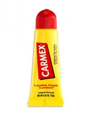 Бальзам для губ Carmex классический в тубе 10 г. Цвет: желтый