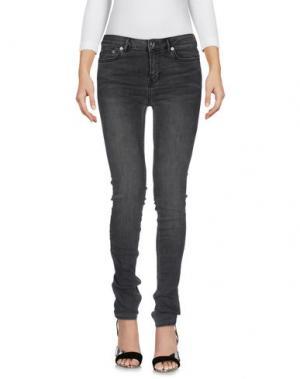 Джинсовые брюки BLK DNM. Цвет: стальной серый