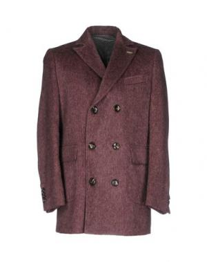 Пальто QUOTA OTTO. Цвет: пурпурный