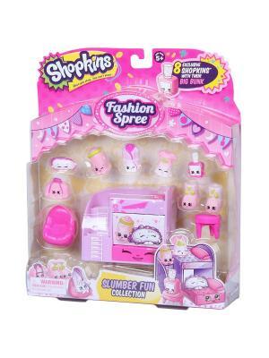 Игровой набор Шопкинс  Модная лихорадка Slumber fun Moose. Цвет: розовый