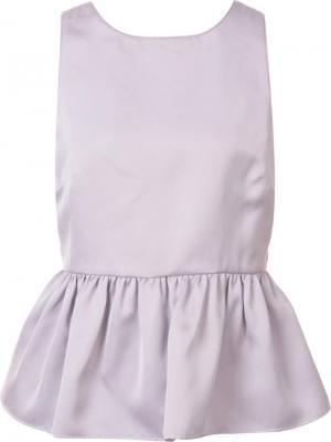 Блузка Kristin Zac Posen. Цвет: розовый и фиолетовый