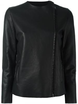Off centre fastening jacket Salvatore Santoro. Цвет: чёрный