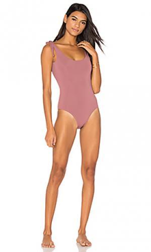 Слитный купальник coco Beth Richards. Цвет: розовый