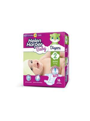 Подгузники Mini 3-6 кг. (16 шт.)/10 HELEN HARPER BABY. Цвет: фиолетовый