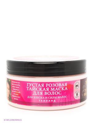 Маска для волос густая, розовая PLANETA ORGANICA. Цвет: розовый