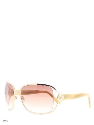 Солнцезащитные очки PR 6014 201 GP PACO RABANNE. Цвет: коричневый