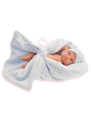 Кукла Пепито, 21 см. Antonio Juan. Цвет: светло-голубой