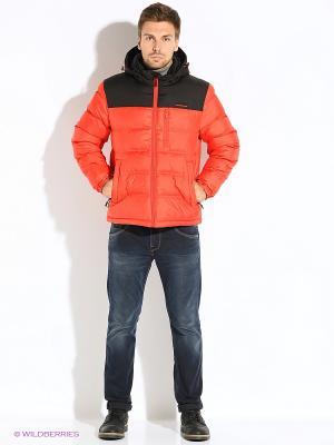 Куртка Snow Guard. Цвет: красный