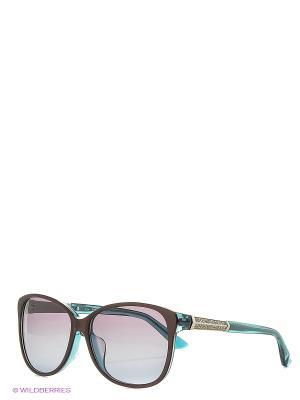 Солнцезащитные очки SK 0083-F 71T Swarovski. Цвет: коричневый