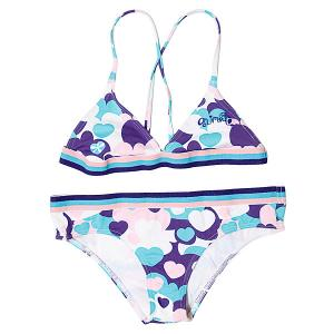 Купальник детский  Thundrcats Bikini White/Purple Animal. Цвет: белый,фиолетовый,голубой
