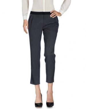 Повседневные брюки VIOLET ATOS LOMBARDINI. Цвет: свинцово-серый