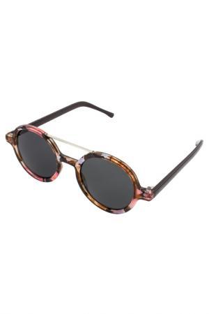 Солнцезащитные очки Komono. Цвет: brown, pink