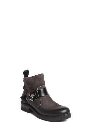 Ботинки MILANA. Цвет: серый
