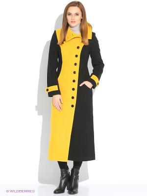 Пальто DOCTOR E. Цвет: черный, горчичный