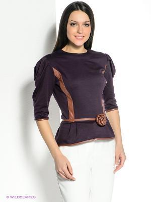 Блузка SUGARLIFE. Цвет: темно-фиолетовый