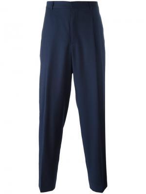 Широкие брюки E. Tautz. Цвет: синий