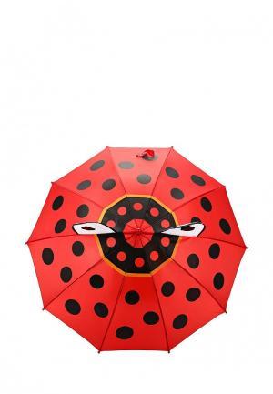 Зонт-трость Incity. Цвет: красный
