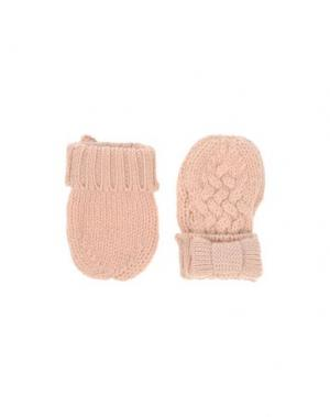 Перчатки HUCKLEBONES. Цвет: розовый