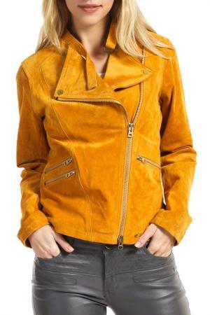 Куртка Ibana. Цвет: butterscotch