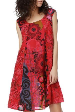 Платье Dewberry. Цвет: multicolor