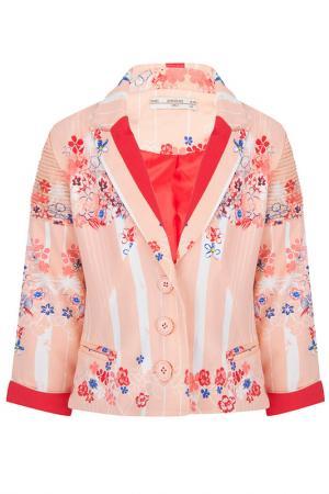 Пиджак Junee SUPERTRASH. Цвет: розовый
