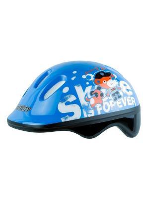 Роликовый шлем BABYTEDDY MAXCITY. Цвет: синий