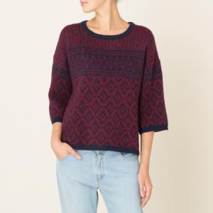 Пуловер TIGER HARRIS WILSON. Цвет: темно-синий