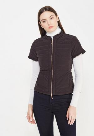 Куртка утепленная Armani Exchange. Цвет: черный