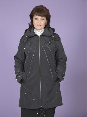 Куртка Бланш VIKO. Цвет: темно-синий