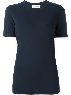 Классическая футболка A.F.Vandevorst. Цвет: синий