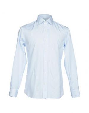 Pубашка SALVATORE PICCOLO. Цвет: небесно-голубой