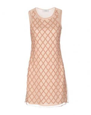Короткое платье LA KORE. Цвет: светло-розовый