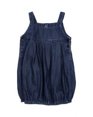 Платье AMORE. Цвет: синий
