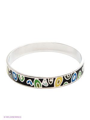 Браслет Lovely Jewelry. Цвет: черный, желтый, синий