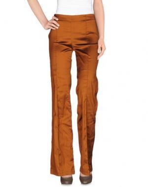Повседневные брюки ALESSANDRO LEGORA. Цвет: медный