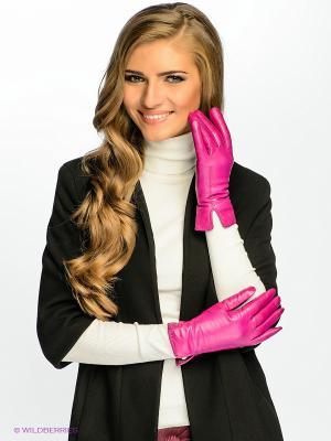 Перчатки Dali Exclusive. Цвет: фуксия