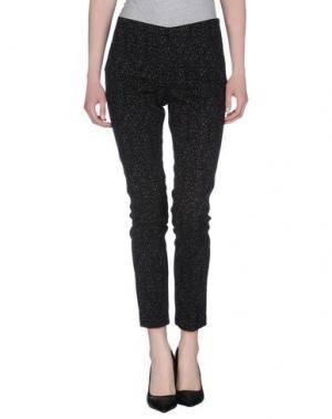 Повседневные брюки H²O LUXURY. Цвет: черный