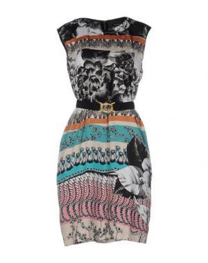 Короткое платье NEW YORK INDUSTRIE. Цвет: черный