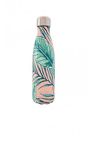 Resort palm beach 17oz water bottle Swell S'well. Цвет: персиковый