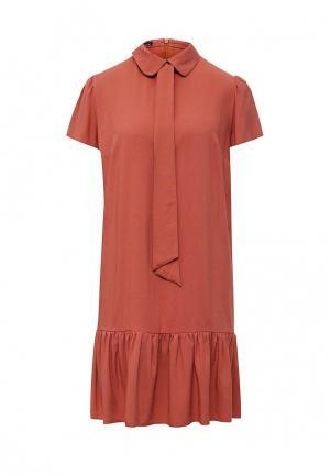Платье Tutto Bene. Цвет: коричневый